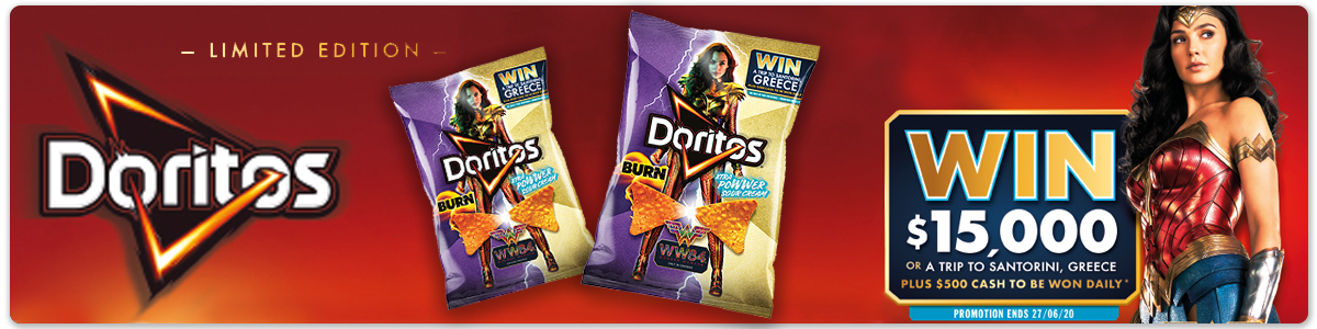 Smiths Doritos WonderWoman